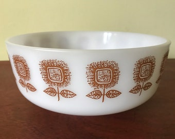 Large Federal Glass 3.5 Qt Heat Proof Bowl