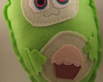 Cupcake monster toy pea pod baby plush childrens toy