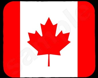 Mouse Pad; Canadian Flag