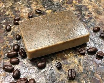 Cinnamon Coffee Bar- Handmade Soap, Made with Real Coffee