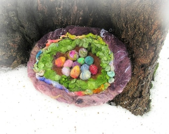 fairy nest of the enchanted forest -   wild egg gatherings