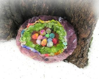 Fee nest aus dem Zauberwald - wild Ei Versammlungen