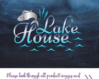 Lake life clip art | Etsy