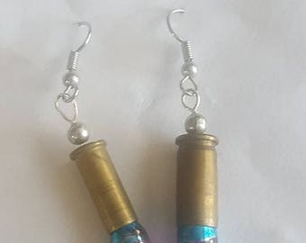 Vintage Bullet Shell Casing Earrings
