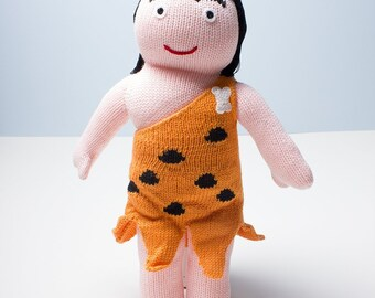 Estella Cotton Handmade Doll - Caveman 12""