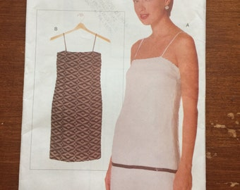 Uncut! Vogue Elements Sewing Pattern 9763 Shift Dress Flapper All Sizes