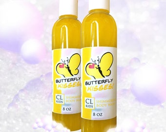 "Butterfly Kisses ""Fresh Pinapple"" Body Wash"