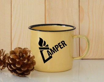 Camping mug, Enamel Camping Mug