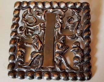 Sterling Pin or Brooch Made in Mexico