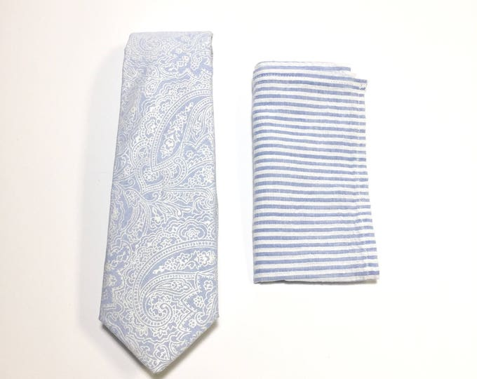 "The ""Don't Be a Seersucker Purdie"" Tie and Square Pack"