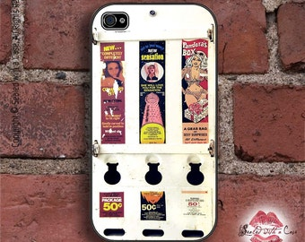 Vintage Condom Vending Machine - iPhone 4/4S 5/5S/5C/6/6+ and now iPhone 7 cases!! And Samsung Galaxy S3/S4/S5/S6/S7
