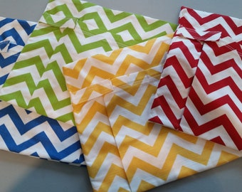 DELUXE // Chair Pocket SETS 4 Classroom / Teacher Classroom Organization // Seat Sacks // Kindergarten // You Choose // Chevron Duck