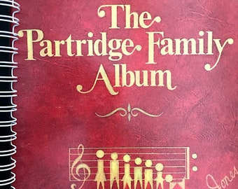 for the The Partridge Family - I Think I Love You  DAVID CASSIDY  FAN /Album Cover Notebook /rare Vinyl!