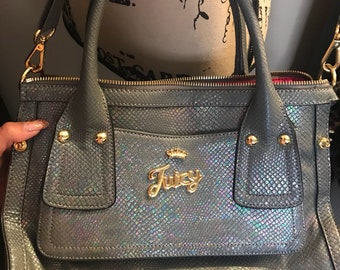 JUICY Rainbow Holographic Bag