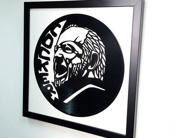 Joe Cocker Wall Art Vinyl Record Framed Artwork