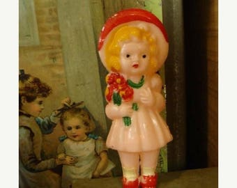 One Adorable Vintage Celluloid  Molly Doll
