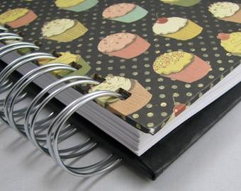 Recipe Book - Recipe Journal - Keepsake Recipes - Family Recipe Book - Bridal Shower Guestbook - Wedding Gift - Foodie - Cooking - Cupcakes