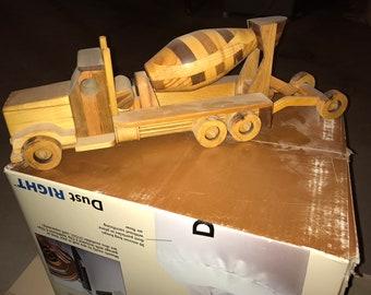 Wooden Construction Grade Cement truck