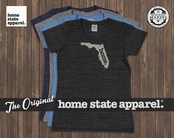 Florida Home. T-shirt- Womens Cut