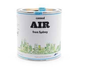 Original Canned Air From Sydney, Australia, gag souvenir, gift, memorabilia