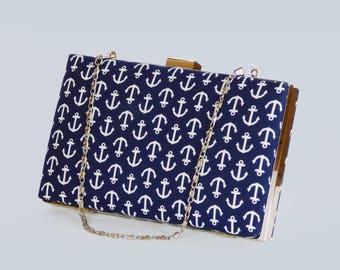 Print clutch bag set Ankara clutch bag Box clutch Tribal clutch bag, Custom made Bag Clutch Bag Accessories Gift