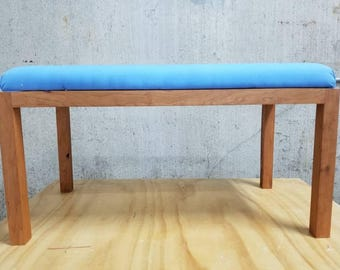 Canvas Upholstered Bench