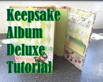 Tutorial #10: Keepsake Album Deluxe 'Springtime Dreams'