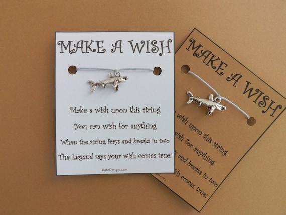 Shark Ocean Inspired Wish Bracelet