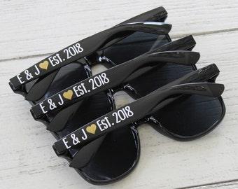 Personalized Sunglasses, MATCHING Discounted Sunglasses, Bulk Sunglasses, Bachelorette Sunglasses, Wedding Sunglasses