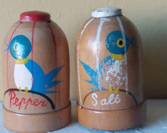 1950s Salt and Pepper Shakers