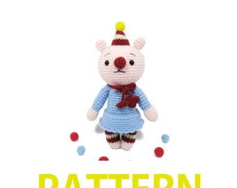 Amigurumi Crochet Pattern-Bear