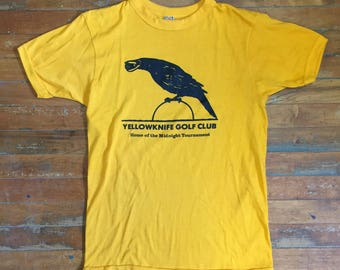 80's Yellowknife Golf Club T Shirt