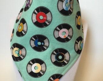 bibdana bib / retro vinyl / records bib