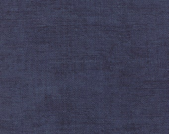 Moda Because of the Brave Blue Rustic Weave American Patriotic Soldier Fabric 32955-114 BTY