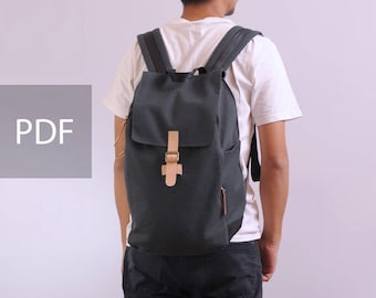 Freedom Backpack - Unisex Backpack - PDF Sewing Pattern - with Sewing Tutorials by niizo (no supplies)
