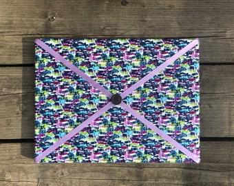 BGP Fabric Board w/ Purple Ribbon (SC)