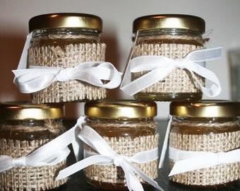 Rustic Wedding Favour, Pure Honey, Burlap, Rustic Wedding, Spring Wedding