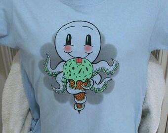 Ice Cream Cone Puss t-shirt Unisex/Mens