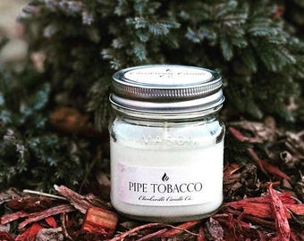 Pipe Tobacco All Natural Soy Candle 6oz