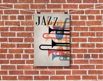 "Music Art, Jazz Art, Orchestra Art, ""JAZZ"""