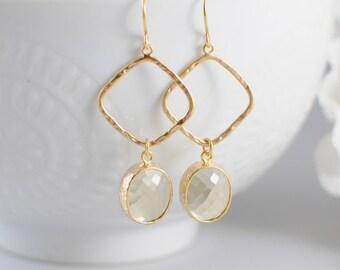The Ainsley Earrings - Lemon