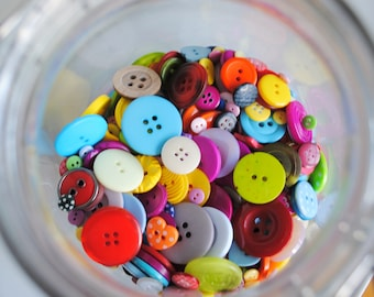 The MegaMix - 50g Mixed Buttons
