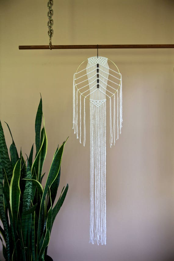 Beaded Macrame Dream Catcher
