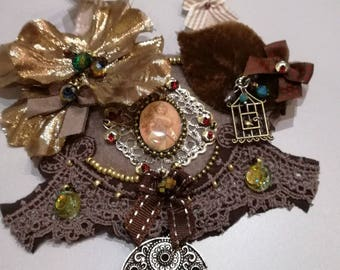 """Completely handmade necklace """"autumn poetry"""""""