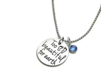 Personalized Mom Necklace Couples Jewelry by