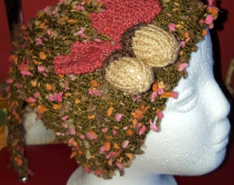 Autumn leaves Pixie hat