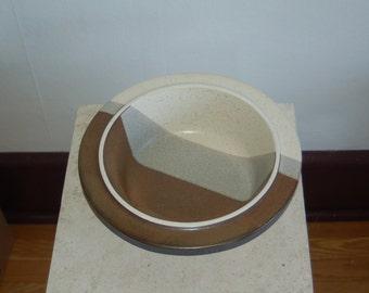 "Jim McBride Agate Pass 10 1/2"" Serving Bowl Fabrik Pottery, Seattle, USA ~ NW James McBride Agate Pass 10 1/2"" Serving Bowl Fabrik Pottery"