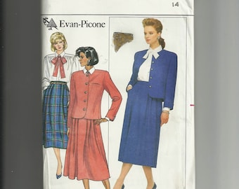 Butterick Misses' Jacket, Skirt and Blouse Pattern 4018