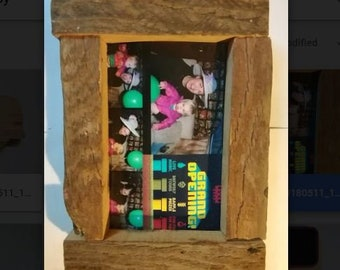 Reclaimed Wood Photo Frame Holder 4 By 6