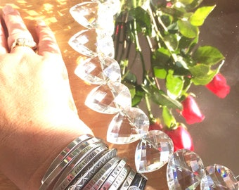 Say What You Want To Say -The price is for ONE-    unique custom cuff bracelets - personalized handmade jewelry By -SIMAG- Boulder Colorado